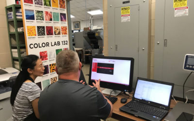 SPEC, Inc. Partners With Wikoff Color Corporation To Enhance Graphic Communications Management Department At Appalachian State University